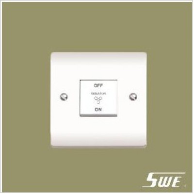 3-Pole Fan Switch 10AX 250V (V Range)