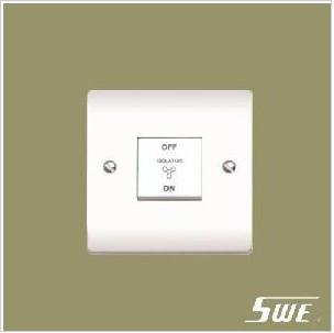 3-Pole Fan Switch 10AX 250V (V Range)
