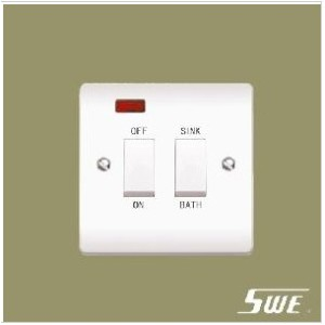 Sink & Bath Switch With Neon (V Range)