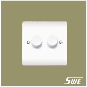 2 Gang Dimmer Switch 250V (V Range)