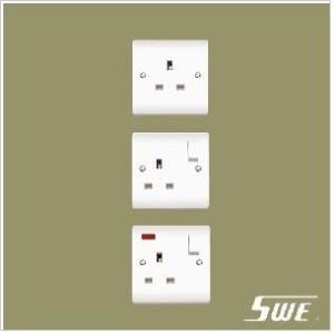 1 Gang Socket Outlet 13A (V Range)