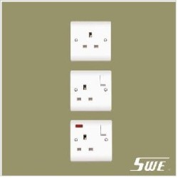 1 Gang Socket Outlet 13A (V Range)