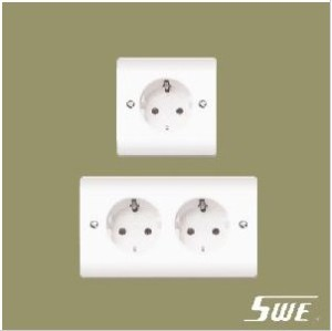 European Socket Unswitched (V Range)