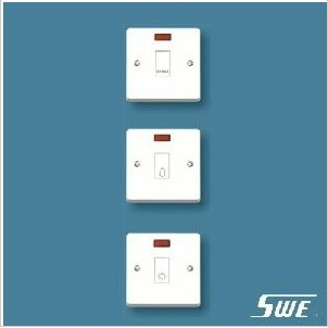 Bell Switch With Neon 10A 250V (W Range)