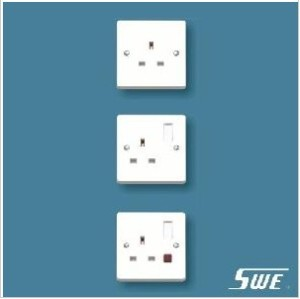 1 Gang Socket Outlet 13A (W Range)