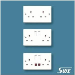 2 Gang Socket Outlet 13A (W Range)