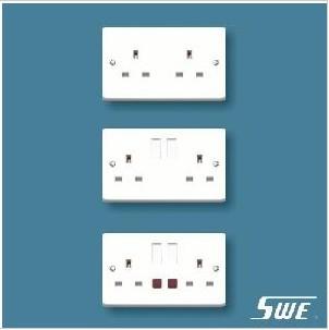 2 Gang Socket Outlet 13A (W Range)