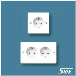 European Socket Unswitched (W Range)