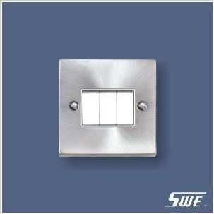 3 Gang Plate Switch 10A 250V (T Range)