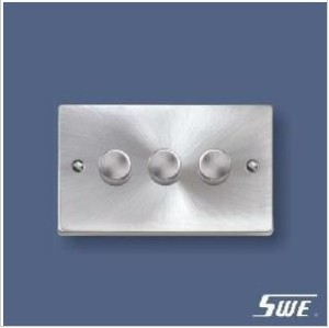 3 Gang Dimmer Switch 250V (T Range)