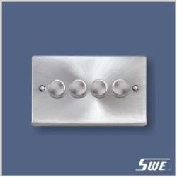 4 Gang Dimmer Switch 250V (T Range)