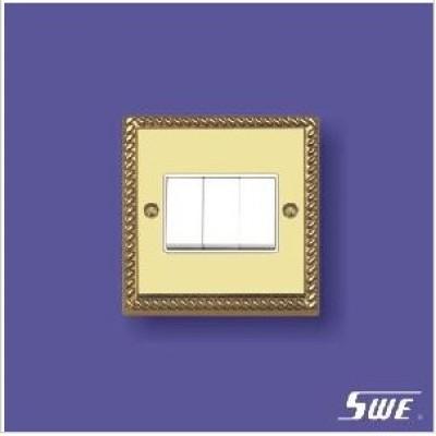 3 Gang Plate Switch 10ax 250V (TA Range)