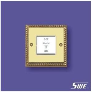 3-Pole Fan Switch 10A 250V (TA Range)