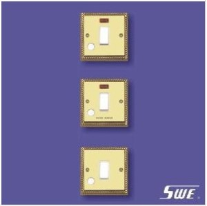 1 Gang Flush Switch 20A DP (TA Range)