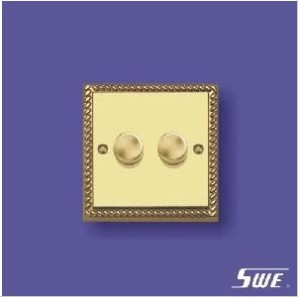 2 Gang Dimmer Switch 250V (TA Range)