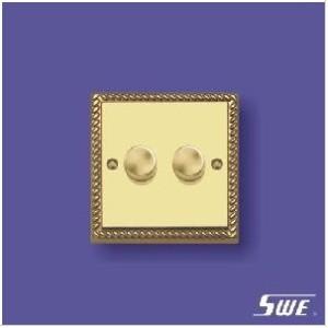 2 Gang Dimmer Switch 250V (TA Range)