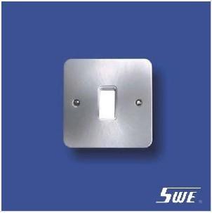 1 Gang Plate Switch 10A 250V (TB Range)