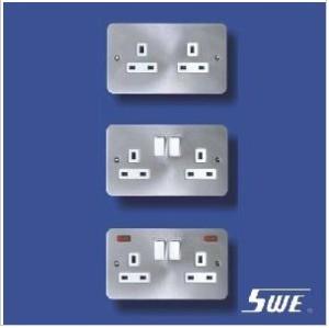2 Gang Socket Outlet 13A (TB Range)