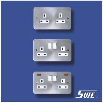 2 Gang Socket Outlet 13A (TB Range)