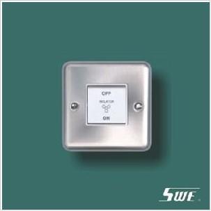 3-Pole Fan Switch 10A 250V (THV Range)