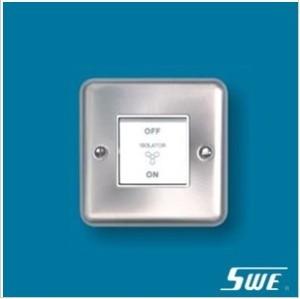 1 Gang 3-Pole Fan Switch 10AX 250V (THW Range)