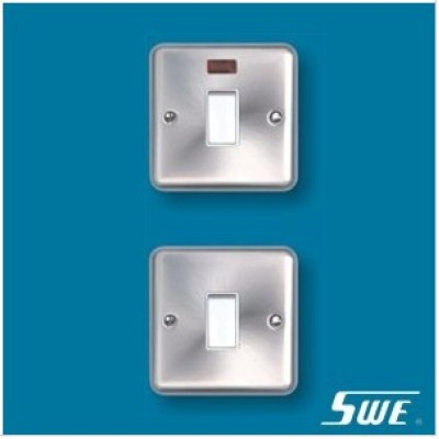 1 Gang Flush Switch 20A DP (THW Range)
