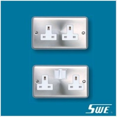 2 Gang Socket Outlet 13A (THW Range)