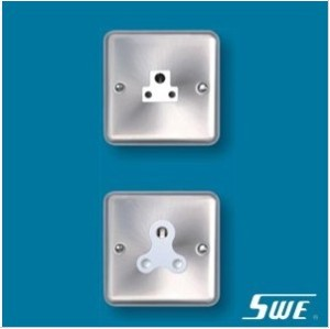 1 Gang Unswitched BS 546 Socket (THW Range)
