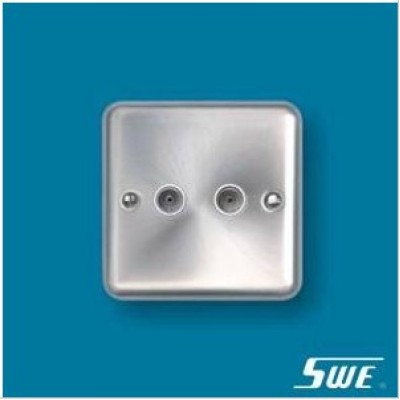 2 Gang TV Socket (THW Range)