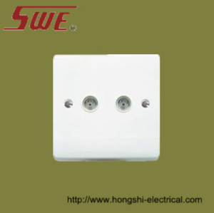 2 Gang TV Socket