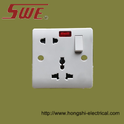 1 Gang Multi-Function Switched Socket