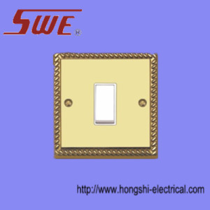 1 Gang Plate Switch 10A 250V
