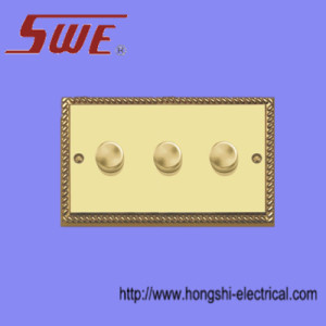 3 Gang Dimmer Switch 250V