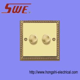 2 Gang Dimmer Switch 250V