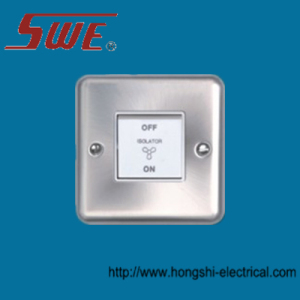3-Pole Fan Switch 10A 250V