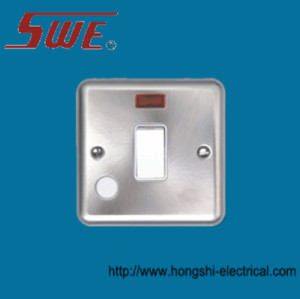 Flush Switch With F/0 20A DP