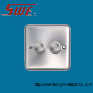 2 Gang Dimmer Switch 250V