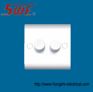 Dimmer Switches 2 Gang,250V