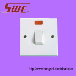 Flush switches 20 A DP