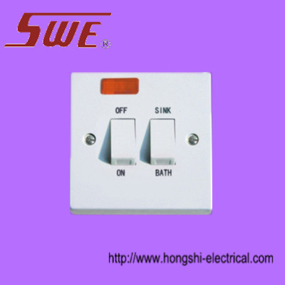 Sink&Bath switch with neon