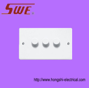 Dimmer Switches 3&43&4 Gang,250V
