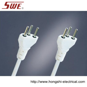 3-pin Swiss Plug