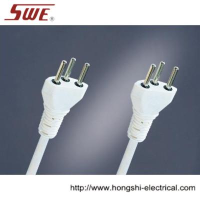 3-pin Swiss Plug