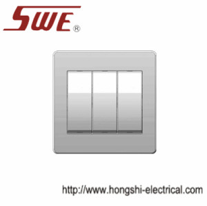 1 Gang Plate Switch 10AX 250V With big button