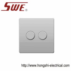 dimmer switches 2gang,250V