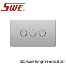 dimmer switches 3gang,250V