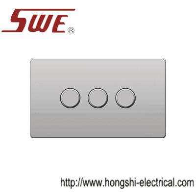 dimmer switches 3gang,250V