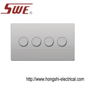 dimmer switches 4gang,250V