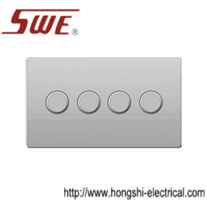 dimmer switches 4gang,250V