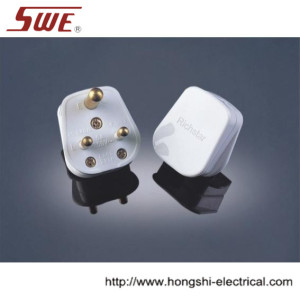 2A Round-Pin Plug